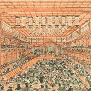 歌舞伎の上演風景