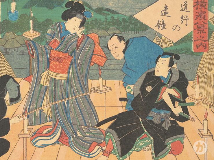 歌舞伎の場面