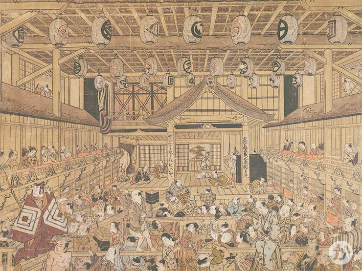 江戸時代の歌舞伎の劇場