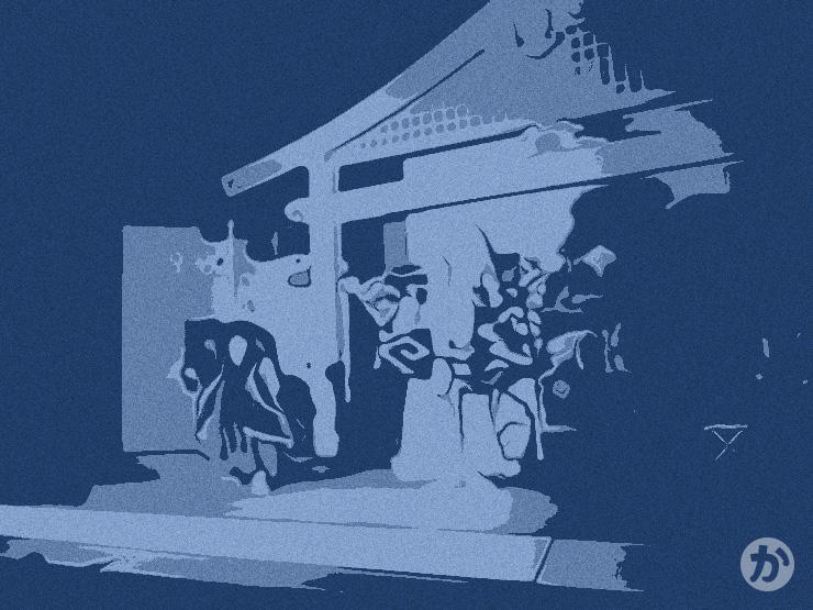 昔の歌舞伎